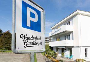 Wanderlust Guesthouse Parkplätze